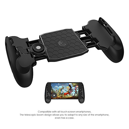 Price comparison product image MasTechBox GameSir F1 Mobile Joystick Controller Grip Case for SmartPhones, Mobile Phone Gaming Grip with Joystick, Controller Holder Stand Joypad with Ergonomic Design