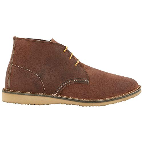 Red Wing Mens Weekender Chukka Leather Red Maple Boots 12 US (Boots Maple Mens)