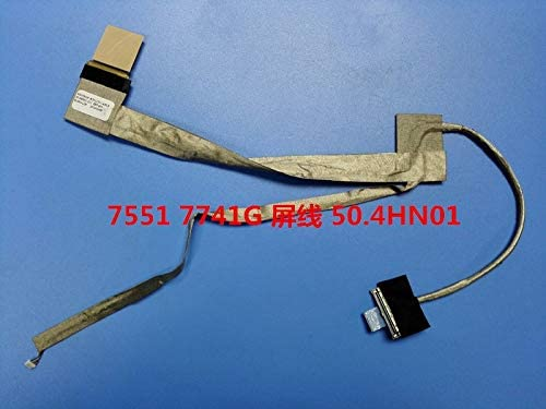 Cable Length: Other Computer Cables LED LCD Cable for Packard Bell EASYNOTE LM98 LM81 MS2290 50.4HN01.021 WISTRON JE70 Screen Flex Display Wire