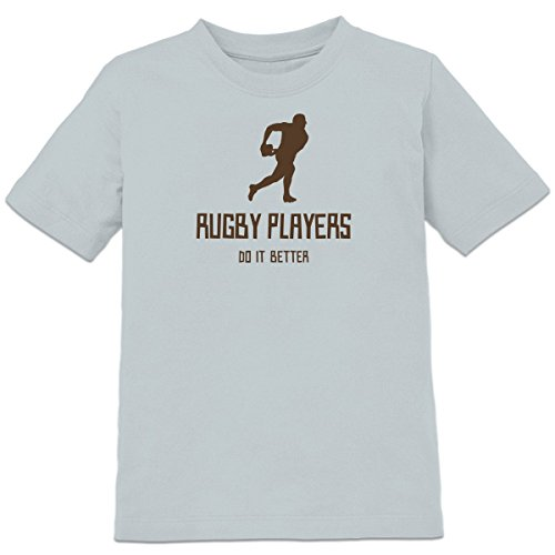 Shirtcity Rugby Players Do It Better Kids' T-shirt 98-104 (104 Rugby)