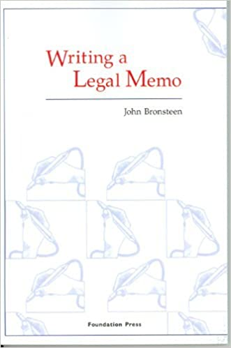 Writing a legal memo university casebook series kindle edition writing a legal memo university casebook series kindle edition by john bronsteen professional technical kindle ebooks amazon fandeluxe Image collections