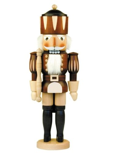 32-350 - Christian Ulbricht Mini Nutcracker - King - 15.5''''H x 5.5''''W x 4.5''''D by Alexander Taron Importer