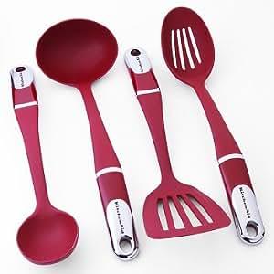KitchenAid 4-pc. Culinary Utensil Set - Red