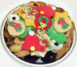 Christmas Cookie Trays.Christmas Small Cookie Tray