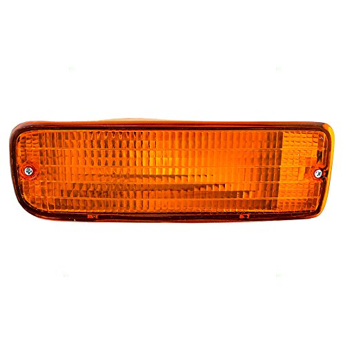 Passengers Park Signal Front Marker Light Lamp Lens Replacement for Toyota 8151035120