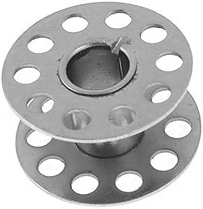 TOOGOO 5 Piezas Metal Plata Rotatorio Canilla para Maquina De ...