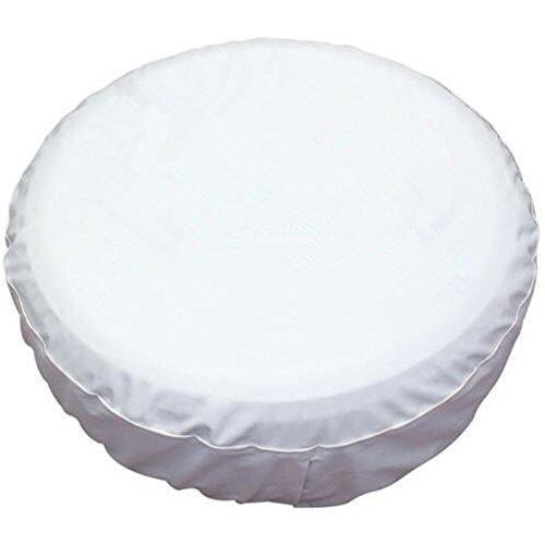 16 white hubcaps - 6