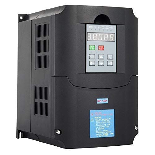 VEVOR VFD Drive VFD Inverter VFD Drive 7.5KW 10HP for Spindle Motor Speed Control (7.5kw VFD) Review