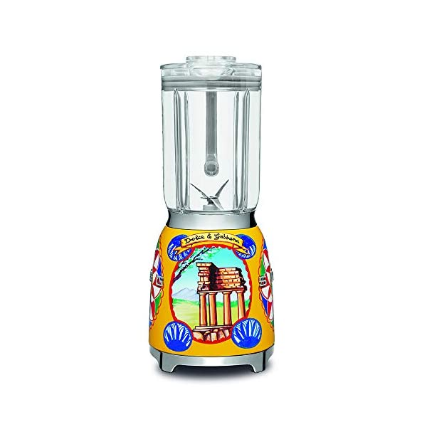 """Dolce and Gabbana x Smeg Countertop Blender BLF01DGUS,""""Sicily Is My Love,"""" Collection 2"""