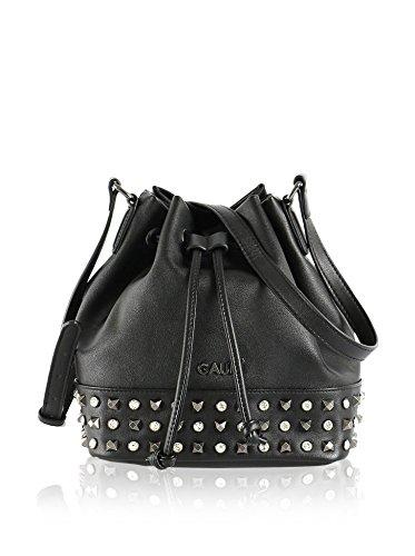 Gaudi - Bolso estilo cartera de Material Sintético para mujer Negro