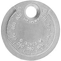 TOOGOO Herramienta de Indicador de Intervalo de Bujía Medición Tipo de Moneda Rango de 0.6-