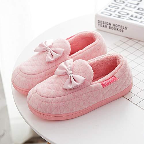 Mou Pink Coton Hiver Sac Pantoufles L'automne Avec Mois Le Td Taille 36 Pantoufle Femelle 35 Imperméables Printemps De couleur En Fond Printemps Gray nFWBqSx0