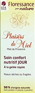 Floressance par Nature Nourishing Day Care with Provence Honey, Pump Bottle 50 ml Pack of 2