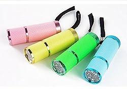 Viskey Mini Led Flashlight Adjustable Focus Light Lamp by Spring Digi Center