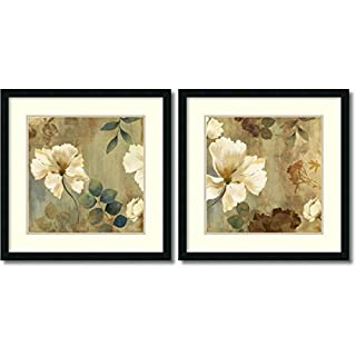 Amanti Art Framed Wall Art Print | Home Wall Decor Art Prints | Golden Spaces - Set of 2 by Asia Jensen | Modern Contemporary Decor (B00SGDHC2W) | Amazon price tracker / tracking, Amazon price history charts, Amazon price watches, Amazon price drop alerts