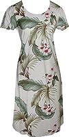 Wild Orchid Hawaiian Aloha Cap Sleeve Short Tank Dress