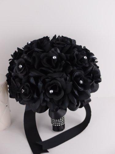 Amazon.com: 13pc Set Wedding Flower Package -5 Bouquets 2 Corsages ...
