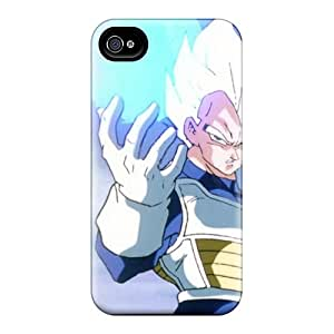 Iphone 6 Case Cover - Slim Fit Tpu Protector Shock Absorbent Case (vegeta Dragon Ball Z)