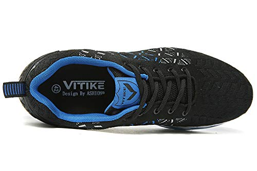 Sneakers Fitness Ginnastica blu Running Uomo ASHION Interior Basse 2 Casual Air Corsa all'Aperto da Scarpe Sportive aBn8TYR