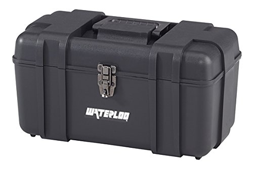 - Waterloo Portable Series Tool Box made with Lightweight Industrial-Strength Plastic, 17
