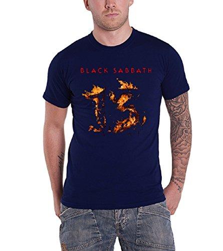 Black Sabbath 13 New Album Official Mens New Blue T Shirt