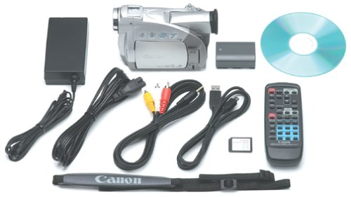 amazon com canon zr45mc minidv digital camcorder with 2 5 lcd rh amazon com