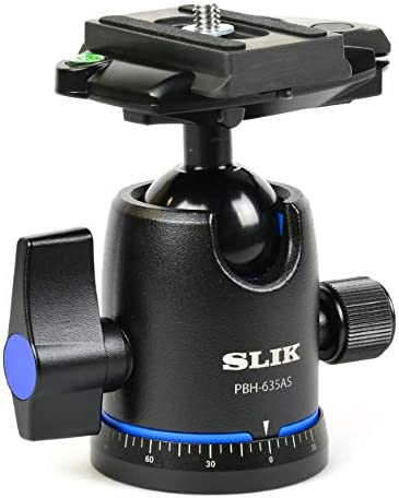 Slik PBH-635AS Ball and Socket Tripod Head with Arca-Swiss Compatible Quick Release System
