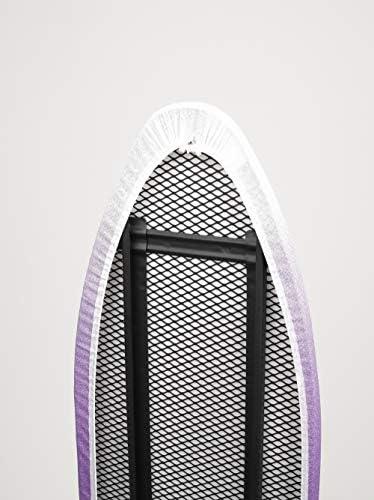Jata Hogar TP500 Tabla De Planchar Ajustable En Altura Y Plegable Metal Negra//Morada 139 X 37 X 14 Cm