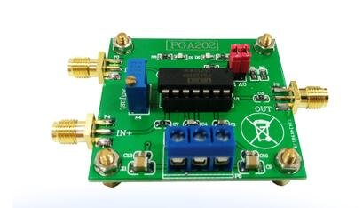 1 pcs lot PGA202 numerical control instrumentation amplifier digital programmable gain data acquisition automatic adjustment circuit by Unknown