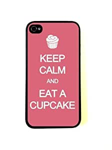 Keep Calm Eat A Cupcake Pink iphone 6 plus 5.5 Case - Fits iphone 6 plus 5.5