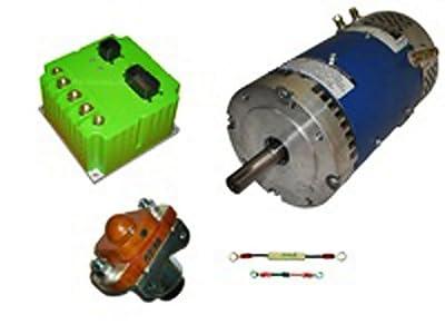 Conversion Kit - D&D ES-32C-7 Motor, Navitas TSX500-72 Controller & Accessories, 72V