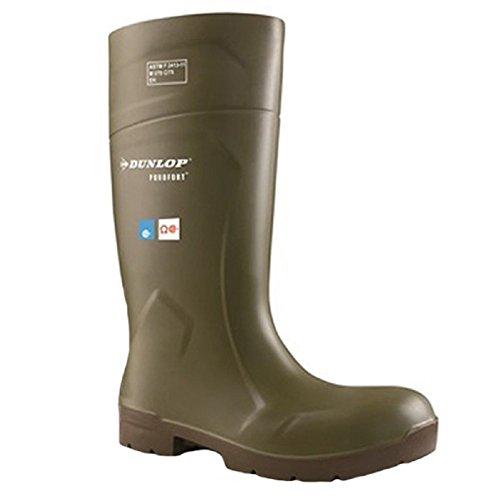 Dunlop Foodpro Purofort Scarpe Di Sicurezza Multigrip Ea51831 Taglia - 6 Verde