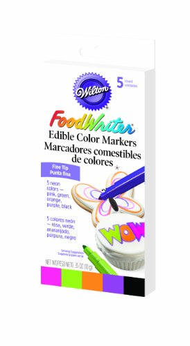 Wilton Food Writer Edible Color Markers (Icing Writer)