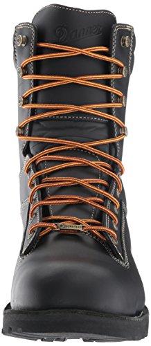 Danner Men's Boot Black 8'' Black Quarry USA at Work wzwq1Z