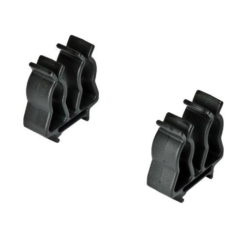 Ernst Manufacturing 1/2-Inch Face Mount Ratchet and Extension Holder, Black
