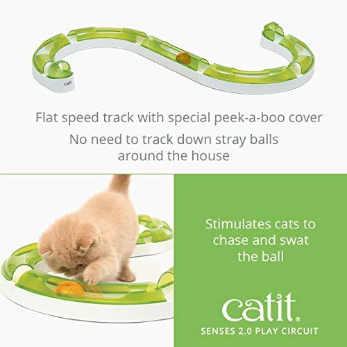 Catit Senses 2.0, Play Circuit, Interactive Cat Toy