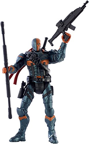 "DC Comics Multiverse Batman Arkham Origins - Deathstroke 4"" Action Figure"