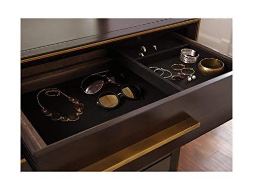 Scott Living 215713 Ingerson 8-Drawer Dresser, Smoked Peppercorn by Scott Living (Image #6)