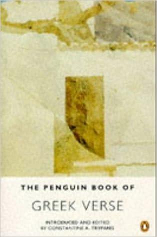 The Penguin Book of Greek Verse (Penguin Poets)