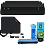 AirTV - Dual Tuner OTA DVR & Streaming Player with Digital HDTV Antenna + Cleaning Kit