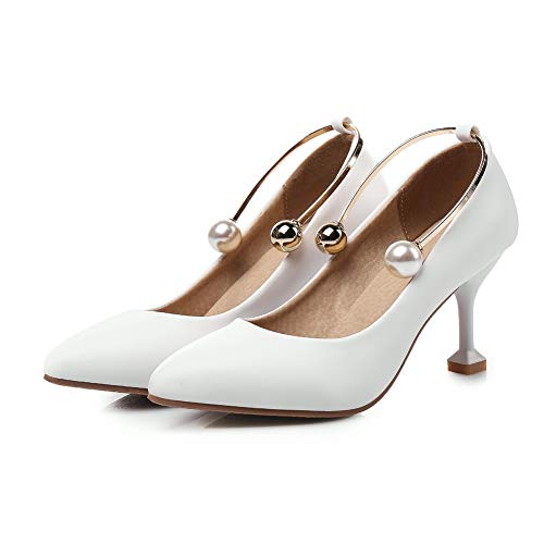 36 Blanc Compensées Blanc BalaMasa APL10660 Sandales Femme 5 fXxgwWYC1q
