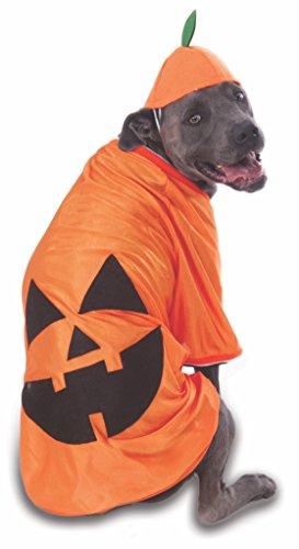 Rubie's Costume Co Big Dog's Pumpkin Pet Costume, XXX-Large -