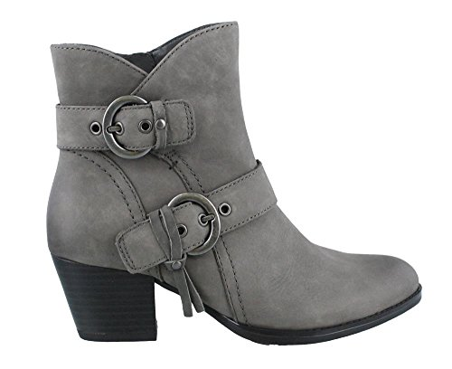Earth Women's Olive: Ankle Boot (Vintage Leather/Dark Gre...