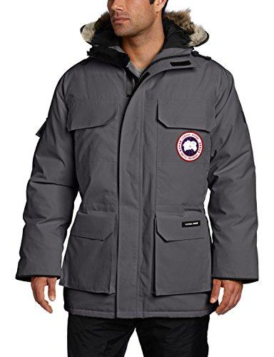 Canada Goose Men's Expedition Parka Coat (Small, Graphite) (Mens Canada Goose Langford compare prices)