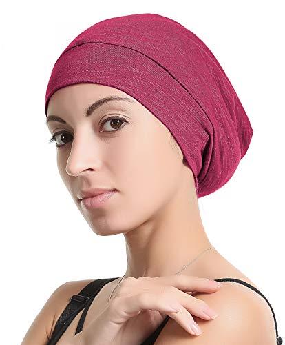 4d52efc6ad205 Premium Sleep Cap Beanie Slap Hat – Satin Silk lined