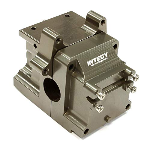 Integy RC Model Hop-ups C24849GREY Billet Machined Differential Case (1) for HPI 1/8 D8, Apache SC & C1 Flux