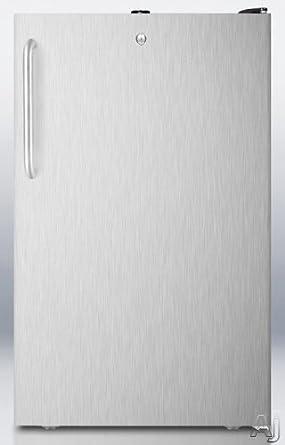Amazon.com: Summit FS408BLBISSTB - Congelador vertical de ...
