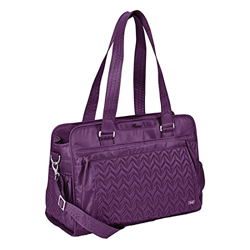Twill Plum - Lug Caboose Carry All Bag, Plum Purple, One Size