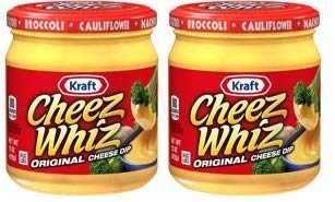 Kraft Cheez Whiz Original Cheese Dip, 15 oz Jar (Pack of 2) by Kraft Cheese