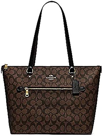 COACH Crossgrain Leather Gallery Tote